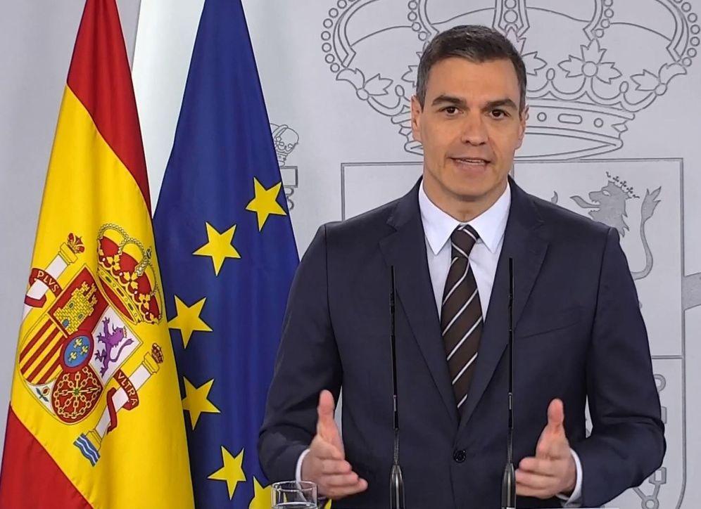 Foto: Pedro Sánchez ha anunciado que habrá turismo internacional a partir de julio