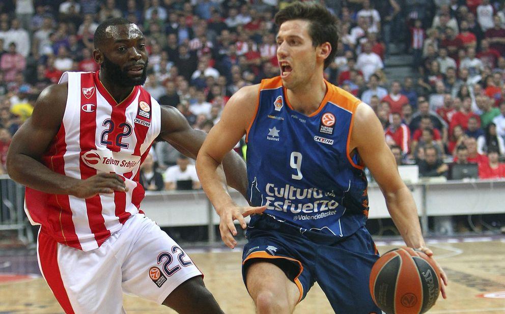 El Valencia Basket sigue sin estrenarse en la Euroliga: derrota contra el Estrella Roja