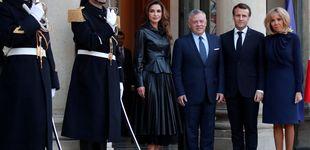 Post de Brigitte se clona a sí misma y Rania, a la reina Letizia: el encuentro más esperado