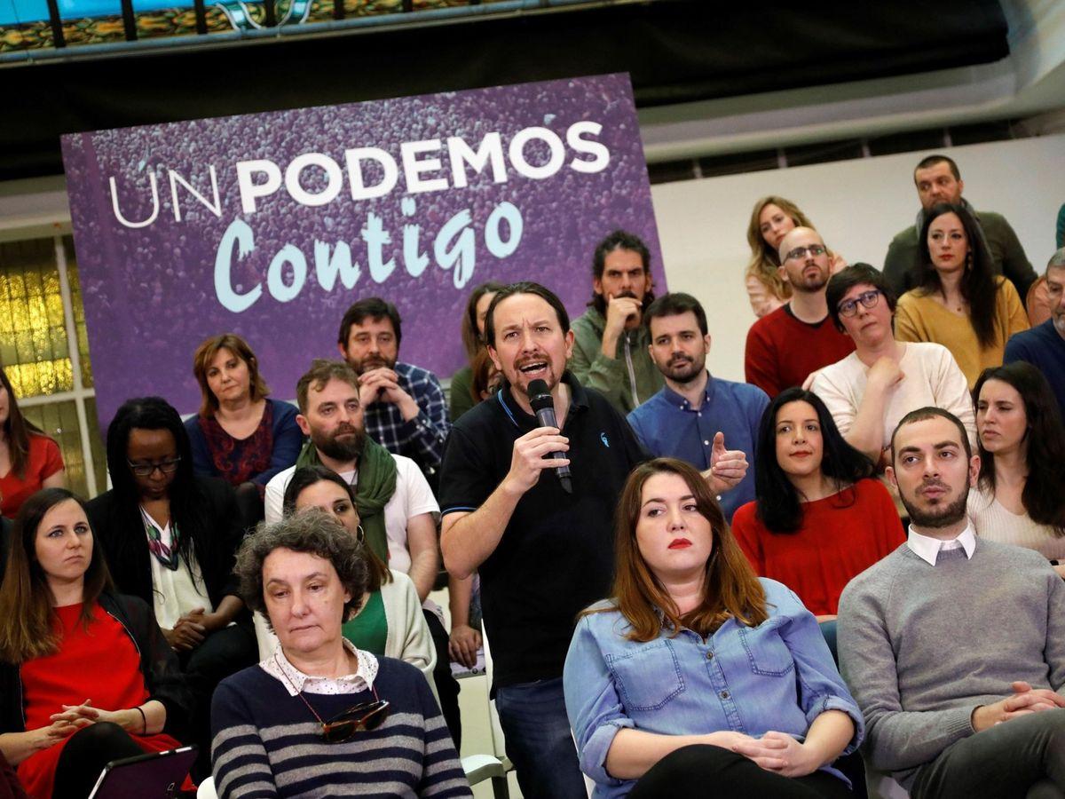Foto: Iglesias presenta su candidatura para la asamblea ciudadana de podemos