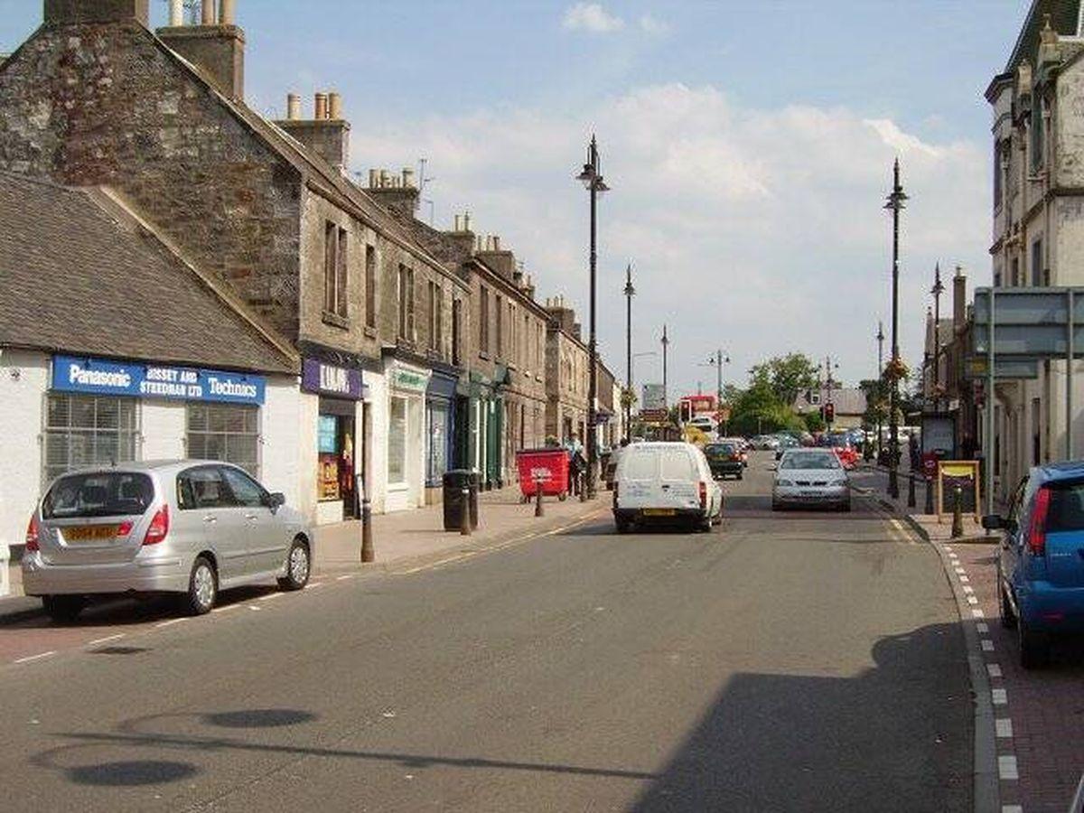 Foto: Imagen de High Street, en Tranent (Creative Commons)
