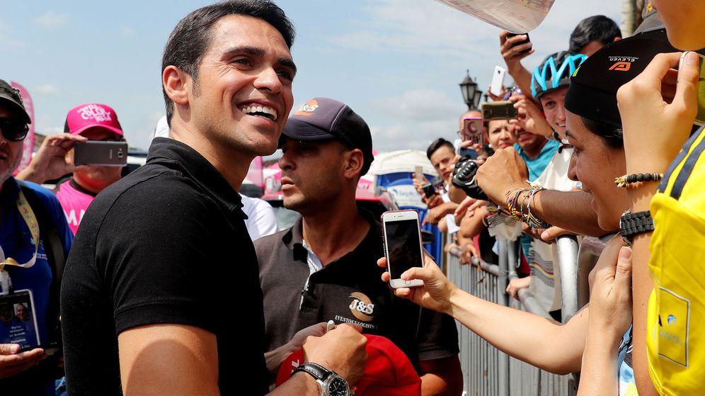 Foto: Alberto Contador debutó este miércoles como comentarista en Eurosport. (EFE)