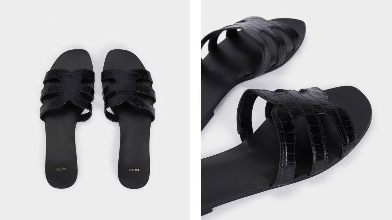 Sandalias de novedades de Parfois. (Cortesía)
