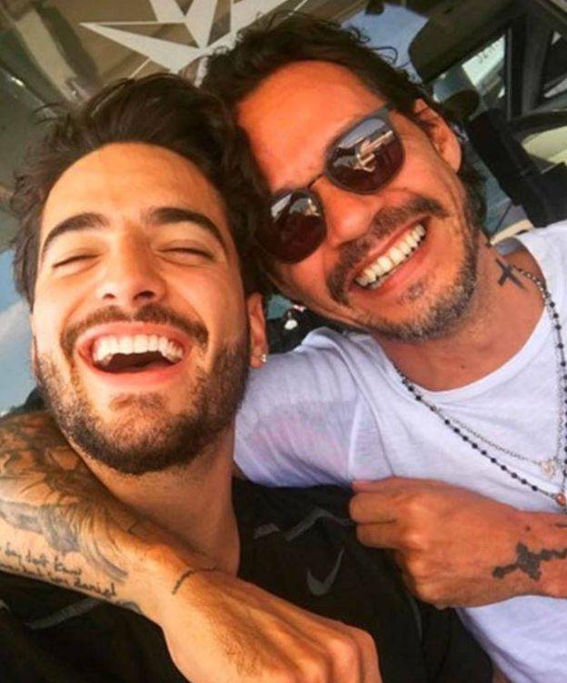 Foto: Maluma y Marc. (RR.SS.)
