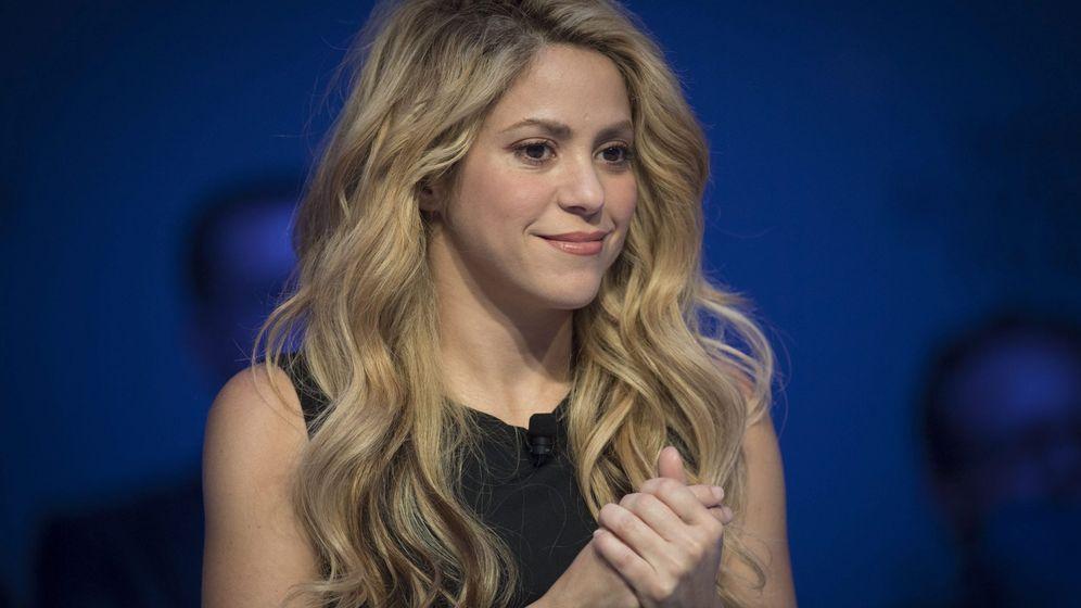 Foto: Shakira en la 47 edición del Foro Económico de Davos. (EFE)