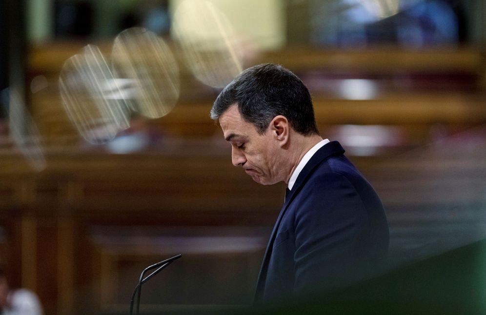 Foto: El presidente, Pedro Sánchez, este 3 de junio durante el debate de la sexta prórroga del estado de alarma. (Reuters)