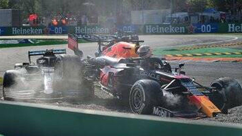 La espectaculares imágenes pasarán a la historia de los grandes duelos de la F1