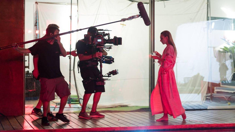 Momento de rodaje de 'Élite'. (Foto: Netflix)