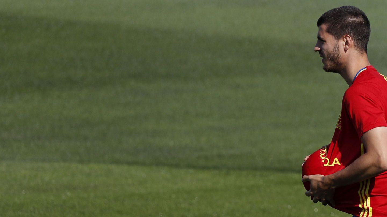 Morata, el único fichaje del Real Madrid.