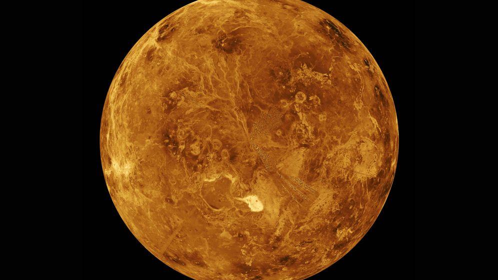 Foto: Venus es un buen ejemplo de cómo los gases con efecto invernadero crean una atmósfera infernal.