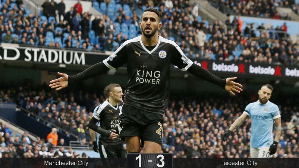 El Leicester pone la Premier League a sus pies tras ridiculizar al City