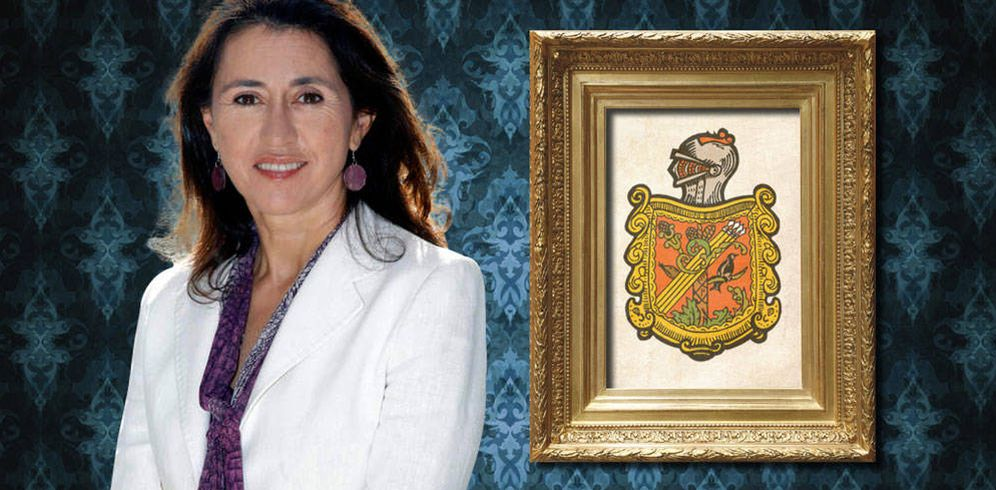 Foto: Gela Alarcó, nueva baronesa (Fotomontaje de Vanitatis)