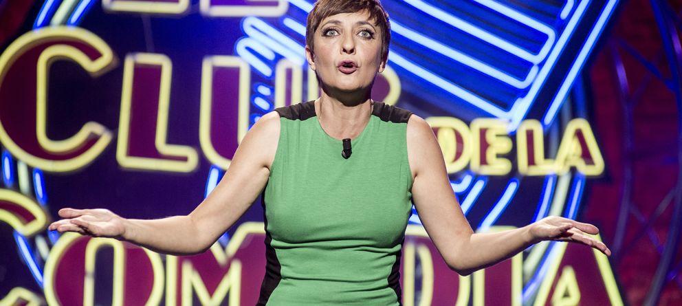Foto: Eva Hache presenta 'El club de la comedia' (laSexta)
