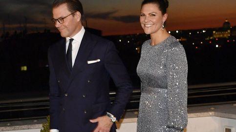 Victoria de Suecia saca su lado más fashion en Roma: el vestido de noche del que te enamorarás