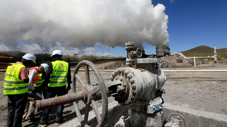 Planta geotérmica en Kenia. (Reuters)