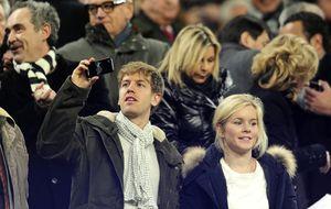 Sebastian Vettel será padre en 2014