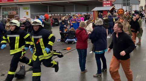Al menos 30 heridos en un atropello masivo en una procesión de carnaval en Alemania