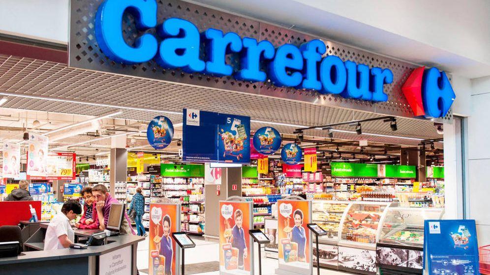 Foto: Imagen de un supermercado de Carrefour.
