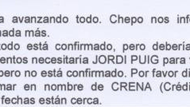 Documento sobre Crena.