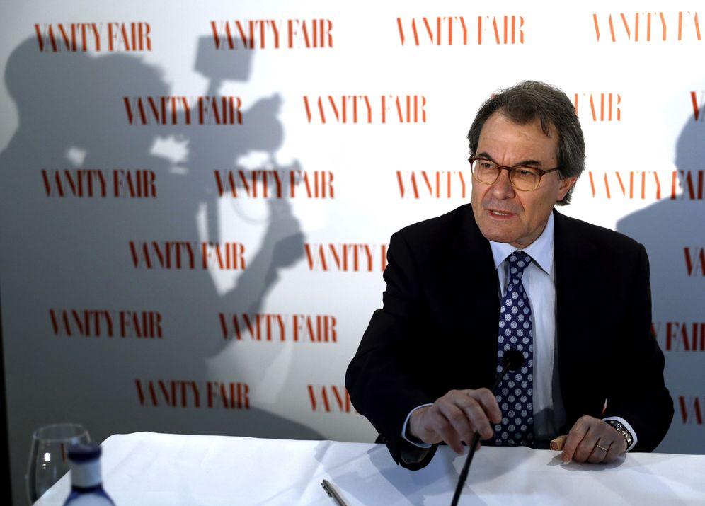 Foto: Artur Mas durante el acto (EFE)