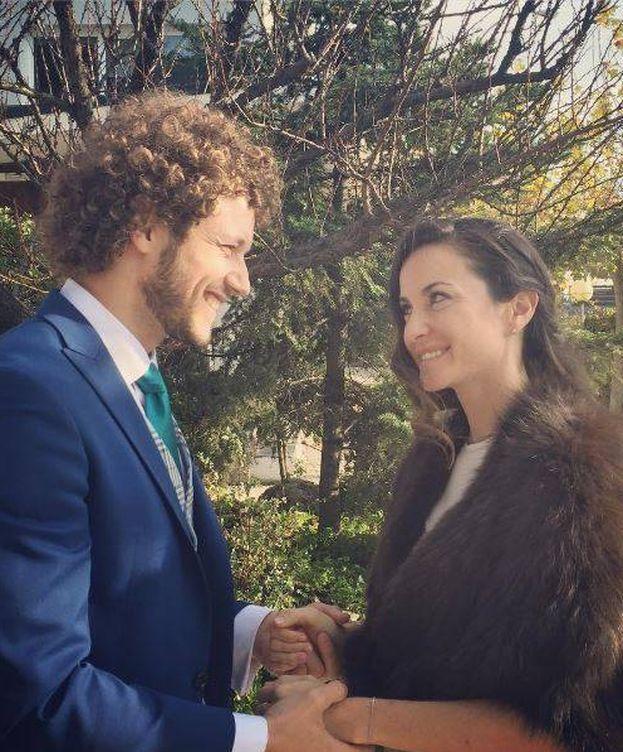 Foto: Daniel y Alejandra el día de su boda