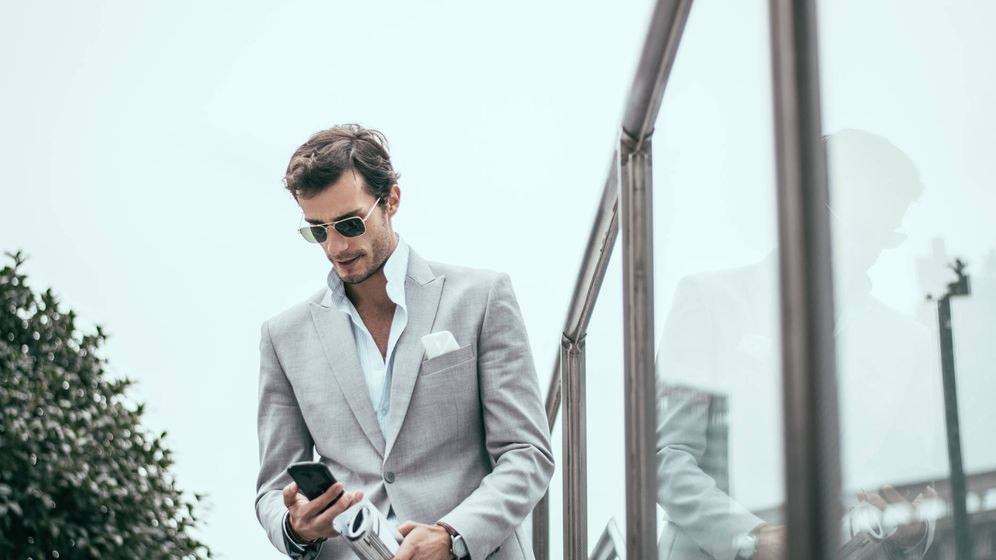Foto: Hombre de negocios. (iStock)