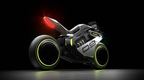 La moto con motor de hidrógeno que te irá a buscar allí donde estés