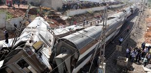 Post de Al menos seis muertos tras descarrillar un tren cerca de Rabat, en Marruecos