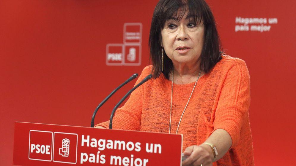 Foto: La presidenta del PSOE, Cristina Narbona. (EFE)