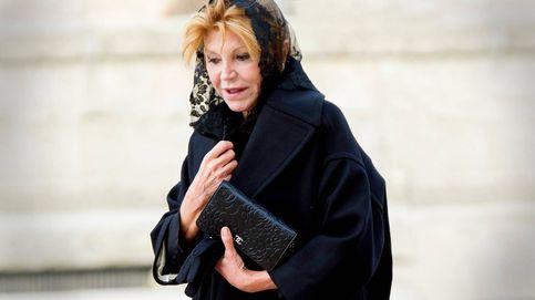 El error de protocolo con la baronesa Thyssen en el funeral por la infanta Pilar