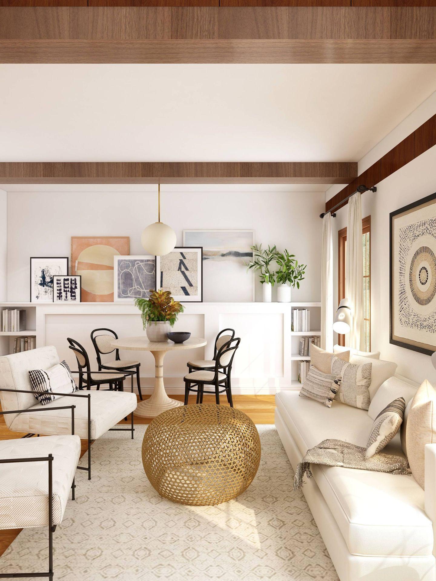 Cambios para un salón más grande. (Collov Home Design para Unsplash)