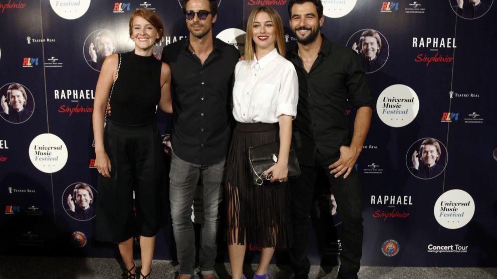 Blanca Suárez, Hugo Silva y Ana Polvorosa, entre los asistentes al concierto de Raphael