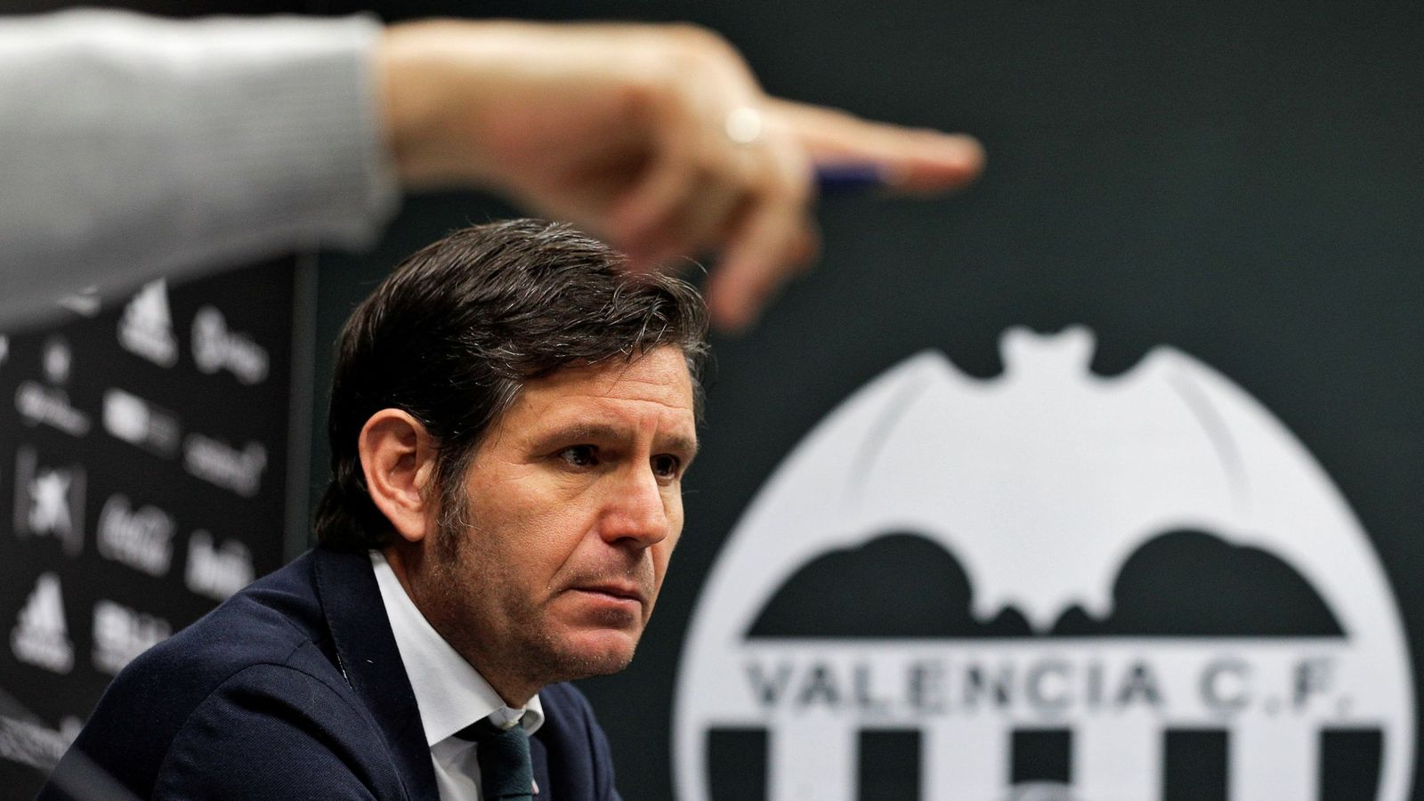 Foto: Mateu Alemany, director general del Valencia. (EFE)