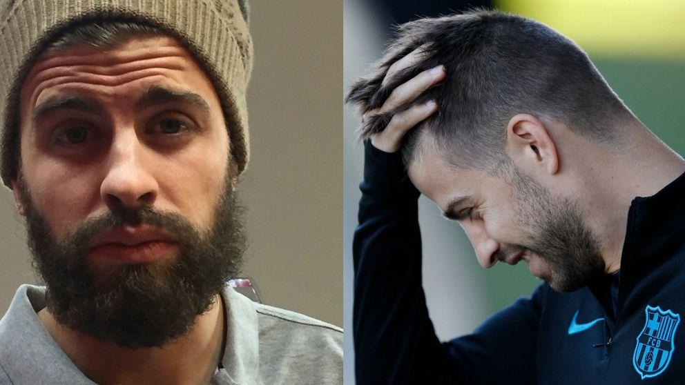 Campaña viral en Twitter para afeitar a Gerard Piqué, el novio de Shakira