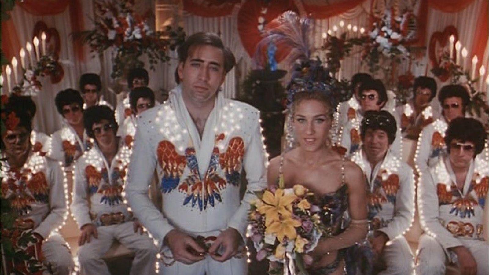 Foto: 'Honeymoon in Vegas', el otro lado de 'Una proposición indecente'.