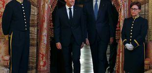Post de La cena del Rey y Macron, un acto con poco lustre (y con dos horas de retraso incluido)