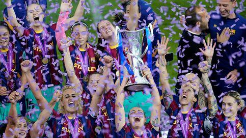 El Barça femenino logra su primera Champions barriendo al Chelsea (0-4)