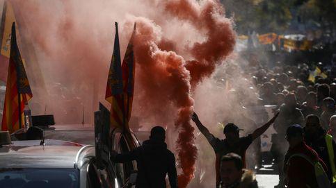 El saldo de los paros: Detenidos tres taxistas y 60 denuncias por agresión a VTC