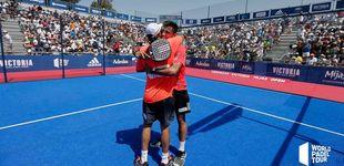 Post de Paquito Navarro y Juan Lebrón se quedan sin final del Mijas Open