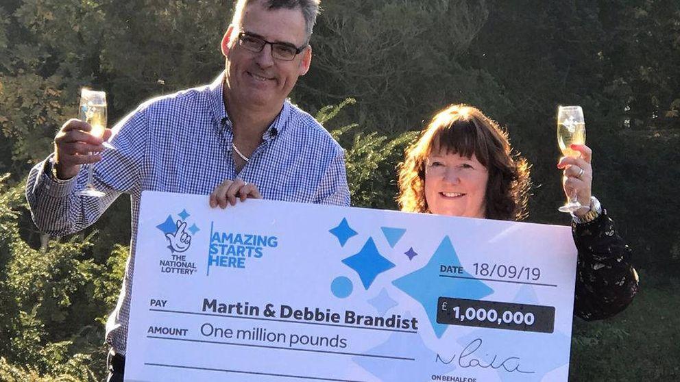 Una pareja inglesa gana un millón a la lotería y lo gastarán en venirse a España
