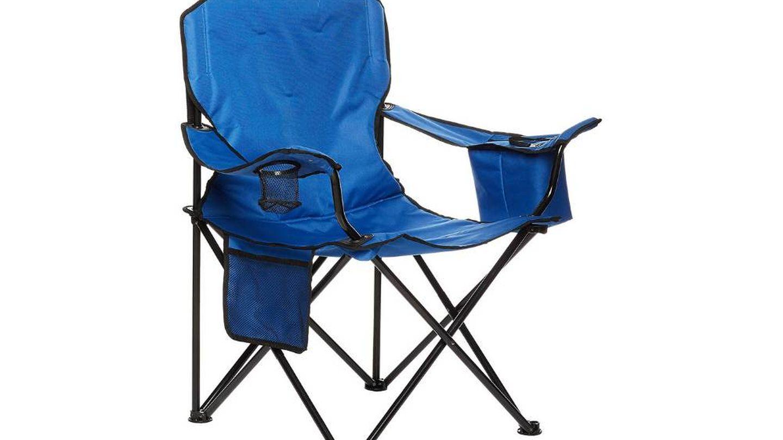 La mejor silla de camping con enfriador de Amazon Basics