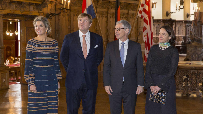 Los reyes de Holanda, de visita en Bremen. (Casa Real de Holanda)