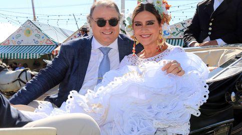 Marina Danko y su novio Fabio Mantegazza, anfitriones de Susana Díaz