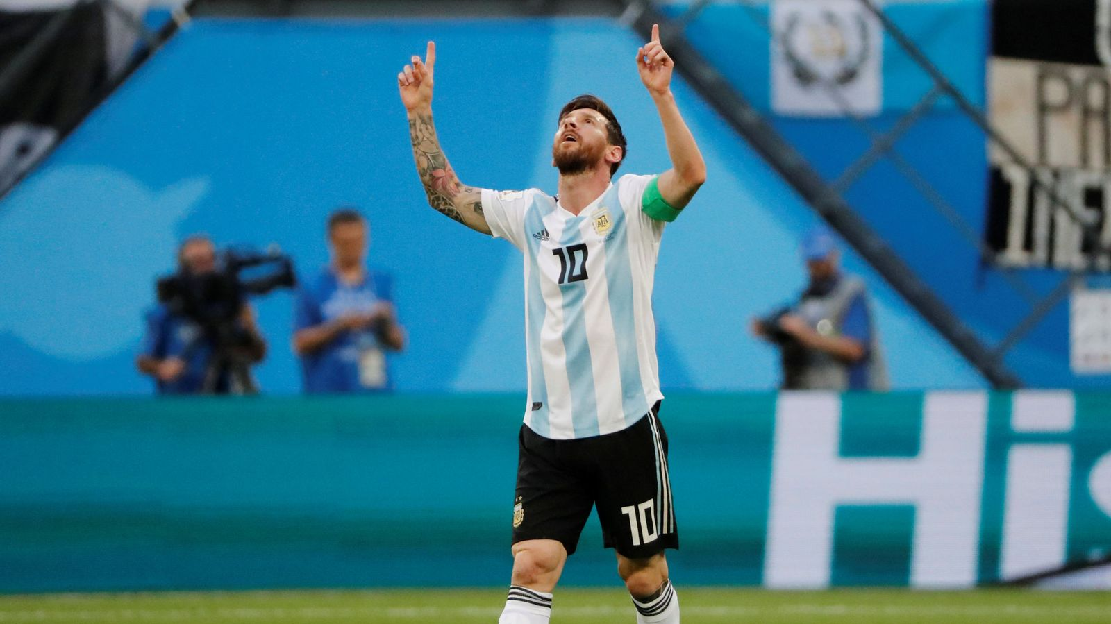 Foto: Leo Messi. (Reuters)