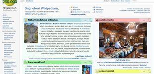 Post de Urkullu impulsa la Wikipedia en euskera para que la lengua vasca gane peso digital