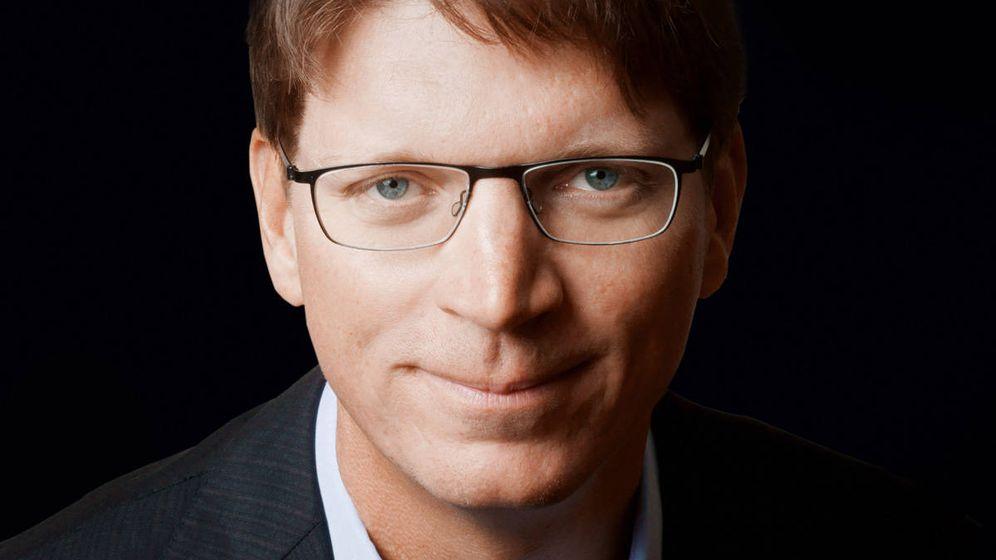 Foto: Niklas Zennström, fundador de Skype y la inversora Atomico