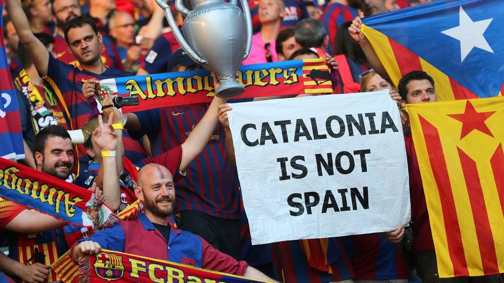 El Barça se defiende ante la agitación social por no plantar cara a la UEFA