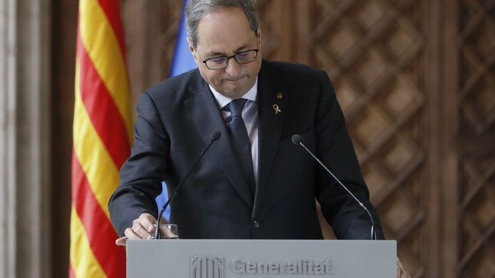 Foto: El presidente catalán, Quim torra. (EFE)