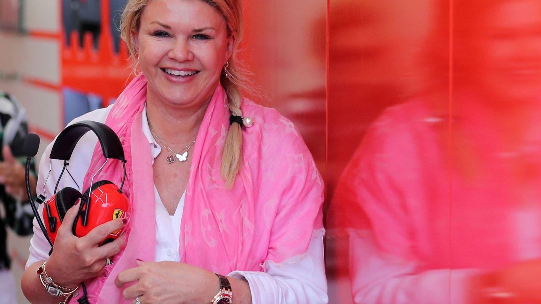 Corinna Schumacher, ahora seguidora de su hijo, en una imagen de archivo. (Reuters)