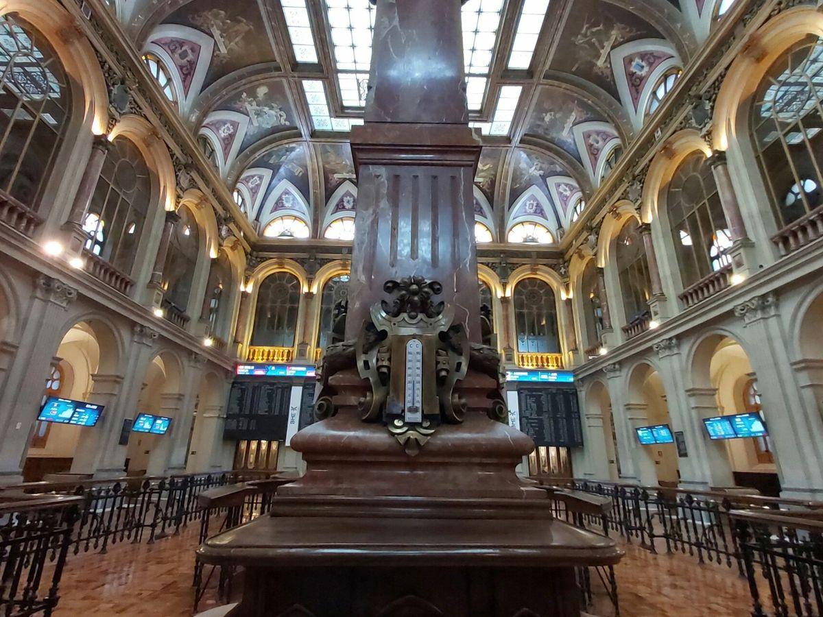 Foto: Palacio de la Bolsa de Madrid. (EFE)
